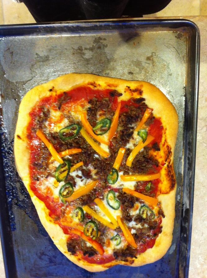 Tom's Wonky Pizza
